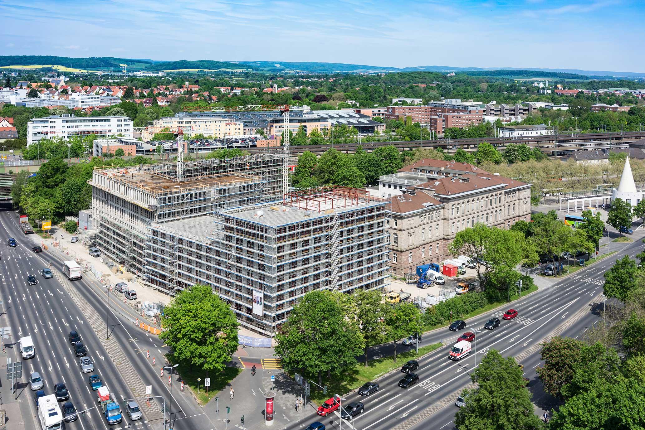 Baustelle Groner Tor Göttingen