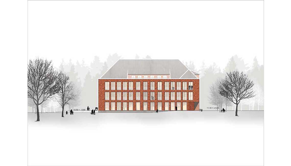 Grundschulzentrum Boizenburg Ansicht Nord