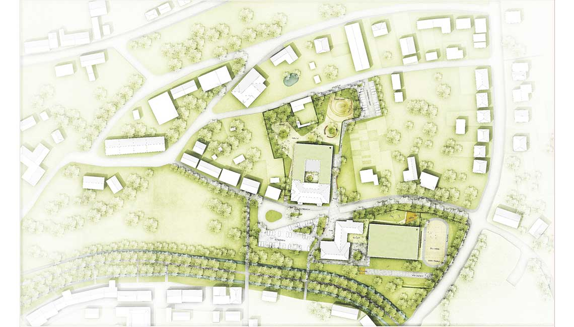Grundschulzentrum Boizenburg Lageplan ahrens grabenhorst nsp